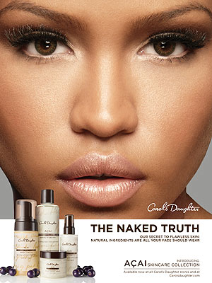 cassie 300x400 Cassie Glows in Carol's Daughter Skincare Ads