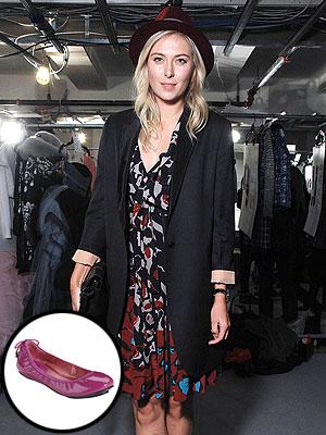 maria sharapova 300x400 Maria Sharapova's Surprising Shoe Design Inspirations