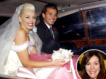 Gwen Stefani Wedding Photo