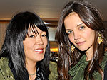 Katie Holmes Scores Coveted Spot at Fashion Week