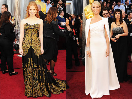 Gwyneth Paltrow, Jessica Chastain