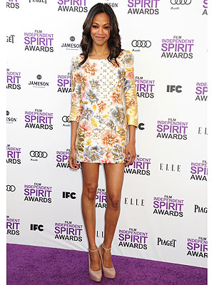 Zoe Saldana Independent Spirit Awards