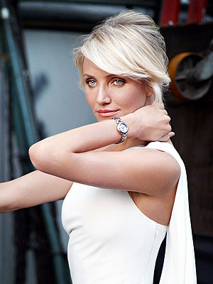cameron diaz 300x400 See Cameron Diaz's First 'Time' Modeling for Tag Heuer