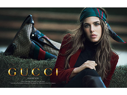 Charlotte Casiraghi Gucci Ad