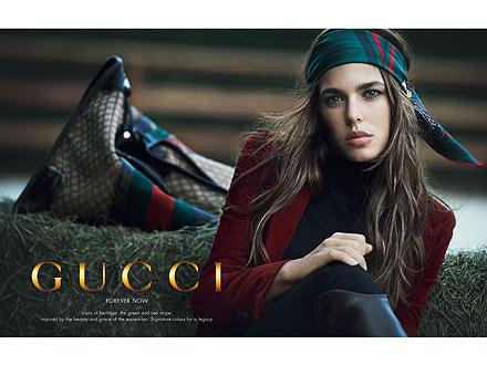 Charlotte Casiraghi Gucci Ad