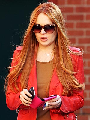 Lindsay Lohan Red Hair Picture