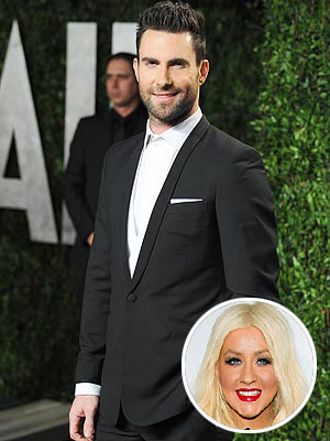 Christina Aguilera, Adam Levine