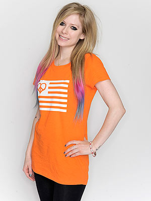 Avril Lavigne MS T-shirt