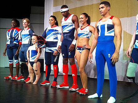 Olympics 2012 Uniforms