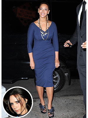 Beyonce Victoria Beckham Dress