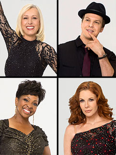 Who&#39;s the First to Go Home on Dancing? | Gavin DeGraw, Gladys Knight, Martina Navratilova, Melissa Gilbert