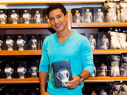 Mario Lopez Underwear
