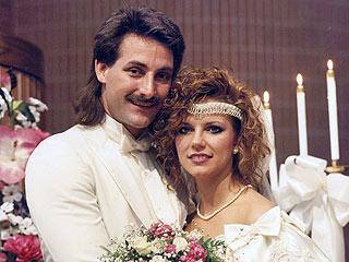 PHOTO FLASHBACK: Martina McBride's 1988 Wedding Pic! | Martina McBride