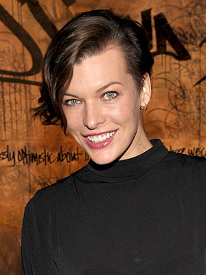 mila jovovich 300x400 The Unconventional Story Behind Milla Jovovich's New Haircut