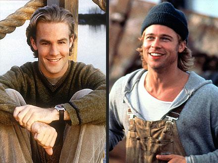 Brad Pitt, James Van Der Beek
