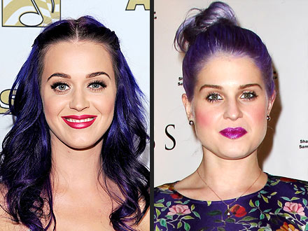 Katy Perry, Kelly Osbourne Hair