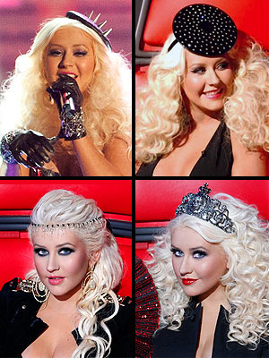 Christina Aguilera Voice Hats