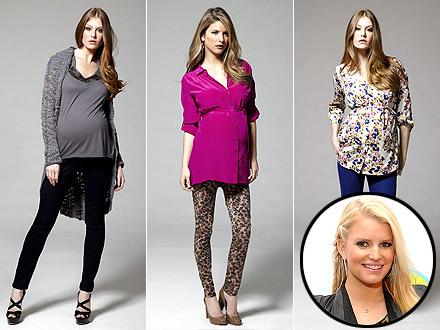 Jessica Simpson Maternity Line