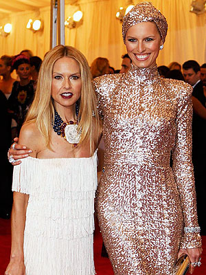 Rachel Zoe and Karolina Kurkova