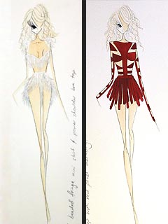 beyonce 300x400 Exclusive First Look: Beyoncé's Atlantic City Concert Costumes