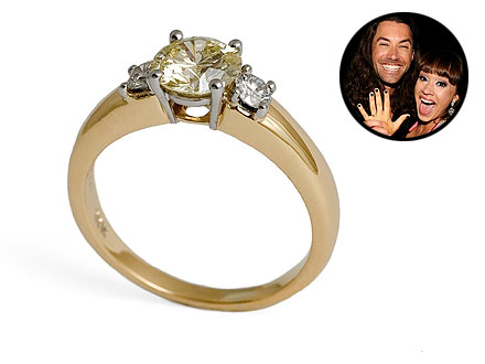 Diana DeGarmo Ace Young Engagement Ring