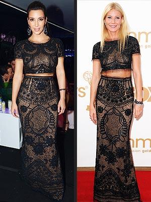 Kim Kardashian, Gwyneth Paltrow
