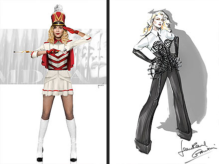 Madonna Costumes MDNA Tour
