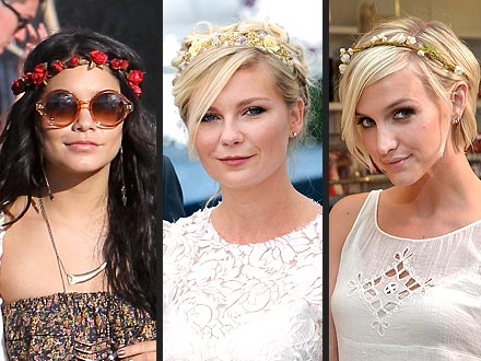 Vanessa Hudgens, Ashlee Simpson Headbands