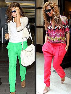 Eva Mendes Beyonce Bright Pants