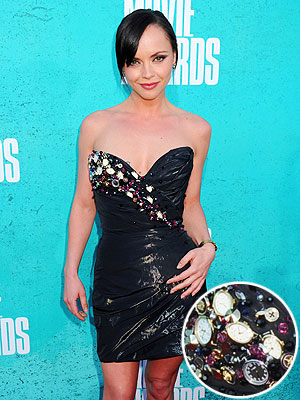 Christina Ricci MTV Movie Awards