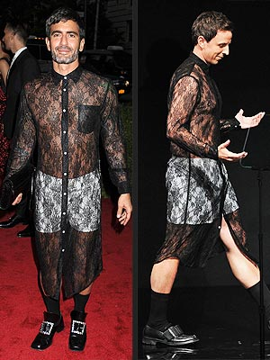Marc Jacobs, Seth Meyers