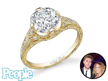 Miley Cyrus Engagement Ring