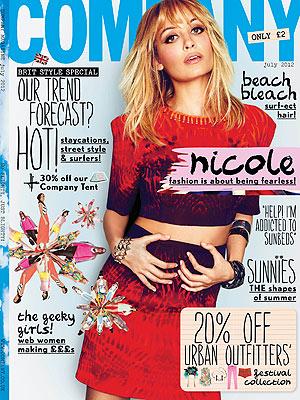 Nicole Richie Company Magaze