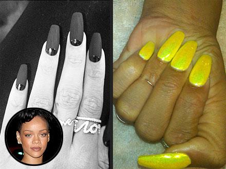 Rihanna Nail Art