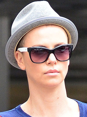 Charlize Theron Hair Shaved