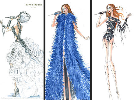 Jennifer Lopez Tour Costumes