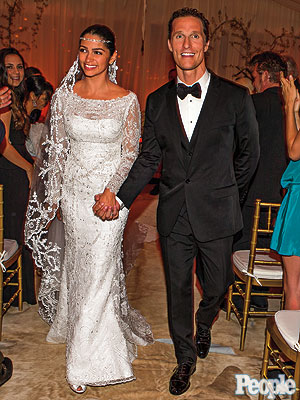 Matthew McConaughey Wedding Photo