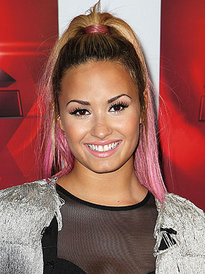 Demi Lovato Pink Hair