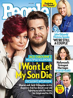 How Jack Osbourne Discovered He Has Multiple Sclerosis | Jack Osbourne, Sharon Osbourne
