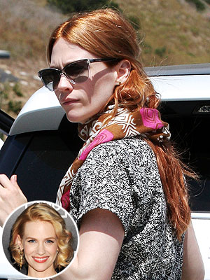 January Jones Red Hair