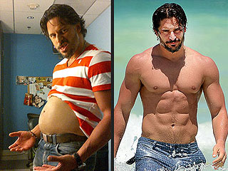 Whoa! See Joe Manganiello's 'Beer Gut'