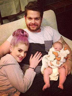 PHOTO: Jack Osbourne's Double Snuggle with Kelly and Pearl | Jack Osbourne, Kelly Osbourne