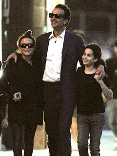 PHOTO: Mary-Kate Olsen Strolls with Olivier Sarkozy | Mary-Kate Olsen