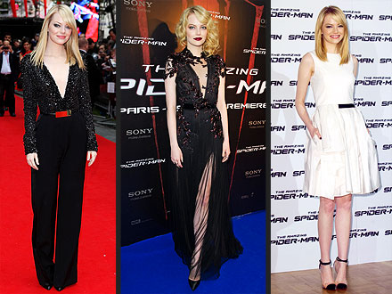emma stone 440x330 Emma Stone's Best Looks: 'Spider Man' Edition