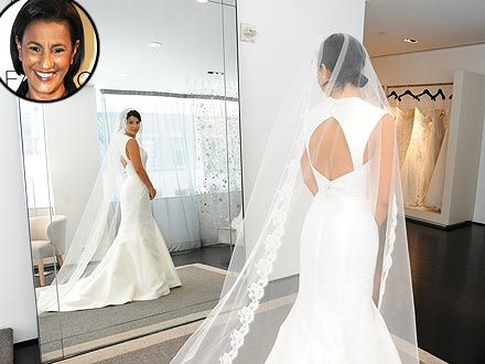 Hilaria Thomas Wedding Dress