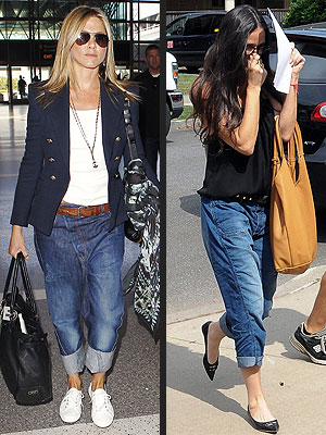 jennifer aniston 300x400 Demi Moore Steals Jennifer Anistons Baggy Jeans