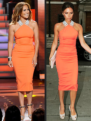 Jennifer Lopez, Victoria Beckham