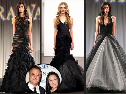 Wedding Dress Designers on And Husband Separate  Did Her Black Wedding Gowns Foreshadow A Split