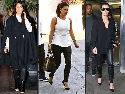 kim kardashian 5 440x330 Kim Kardashian Loves Leather Leggings, But Would She Be Comfier in Something Else?