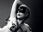 Lady Gaga Poses Naked In Bizarre Fragrance Ad